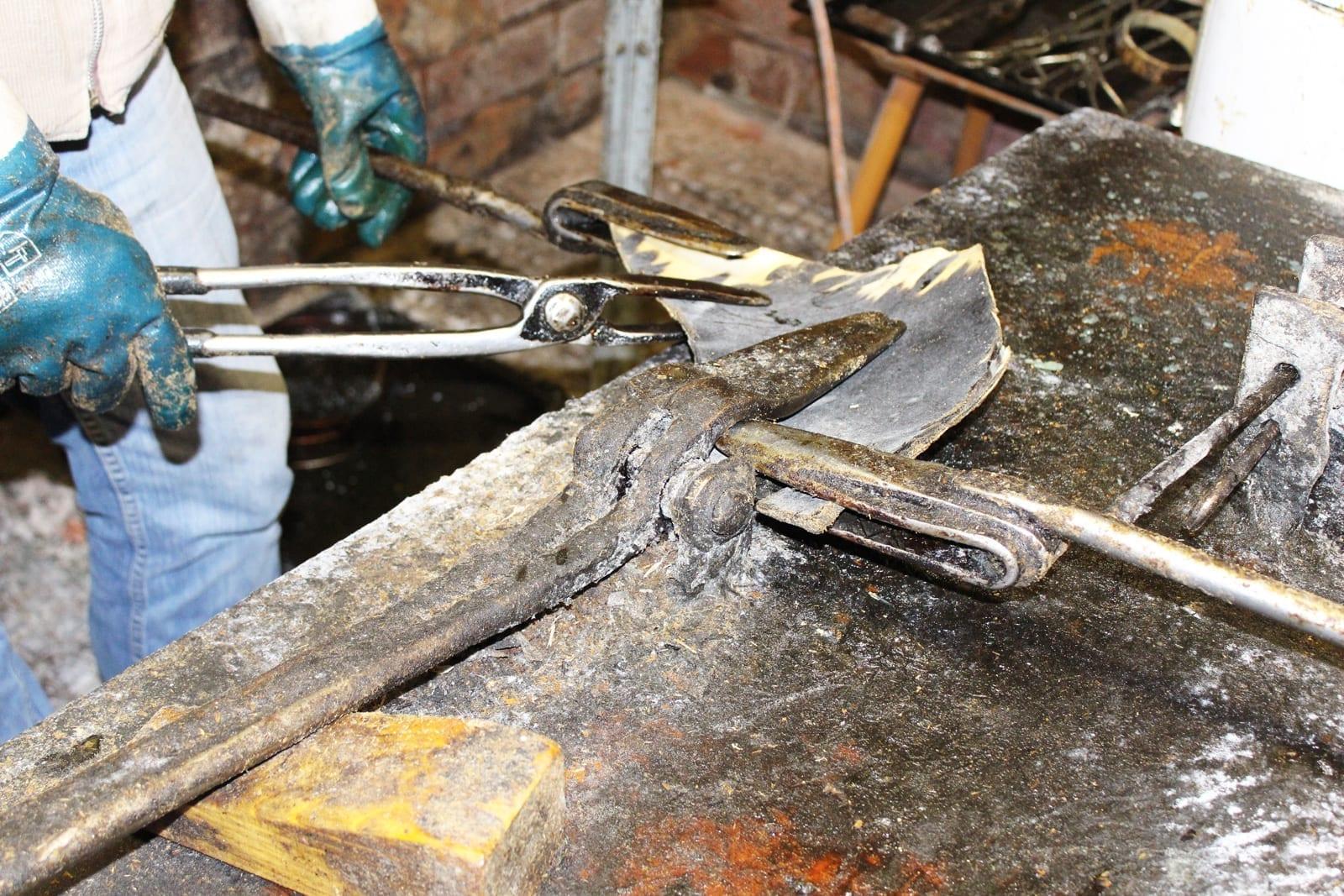 Thohr Hornplatten Aufbiegen Hornverarbeitung